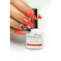 Gel Polish -Neon Red 10ml