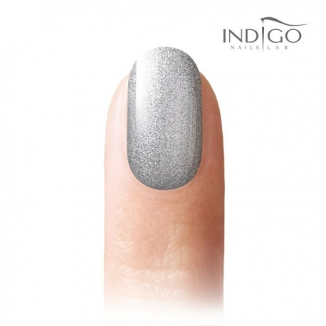 Mini Gel Polish - Silver Princess Glitter 5ml