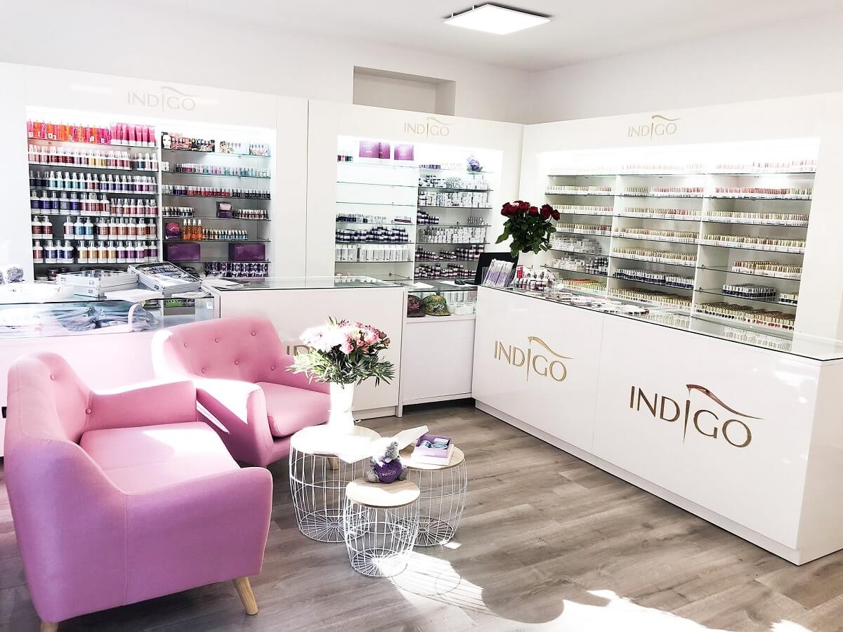 Showroom Indigo Nails Paris