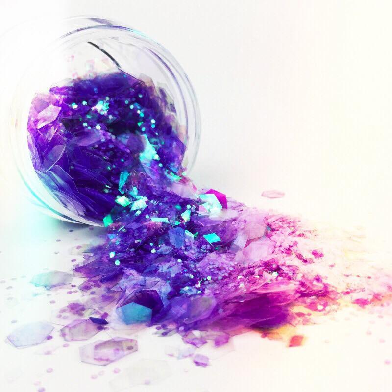 Paillettes Glitters NailArt