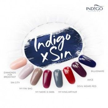 Collection Indigo x Sin by Sara Boruc